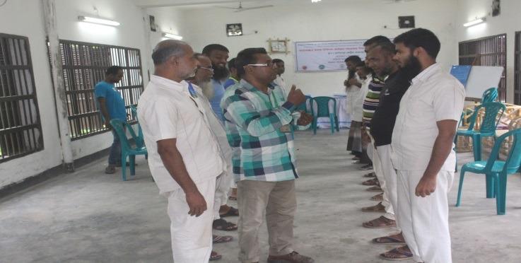 Peer Volunteer Training Held
