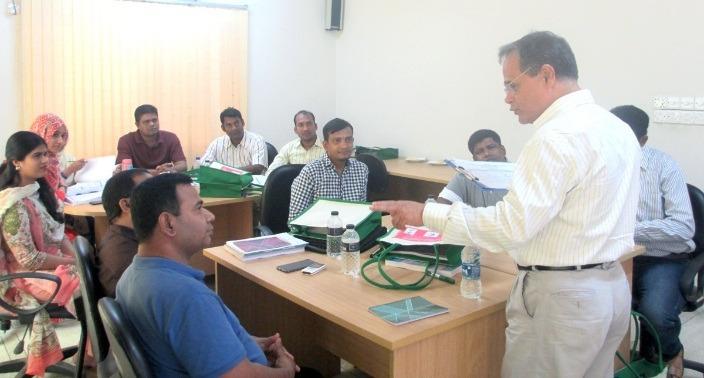 Training on Universal Treatment Curriculum organized