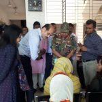 ঢাকা উত্তর সিটি কর্পোরেশনের সম্মানিত মেয়র জনাব আতিকুল ইসলাম গতকাল সকালে মিশন পরিচালিত #আরবান_প্রাইমারী_হেলথ_কেয়ার_সার্ভিস_ডেলিভারী প্রকল্পের মিরপুরস্থ পিএ -৩ এর #নগর_মার্তৃসদন পরিদর্শন করেন ও সেবা গ্রহণকারীদের সাথে কথা বলেন। এসময় ঢাকা উত্তর সিটি কর্পোরেশনের প্রধান স্বাস্থ্য কর্মকর্তা মহোদয়সহ অন্যান্যরা উপস্থিত ছিলেন।