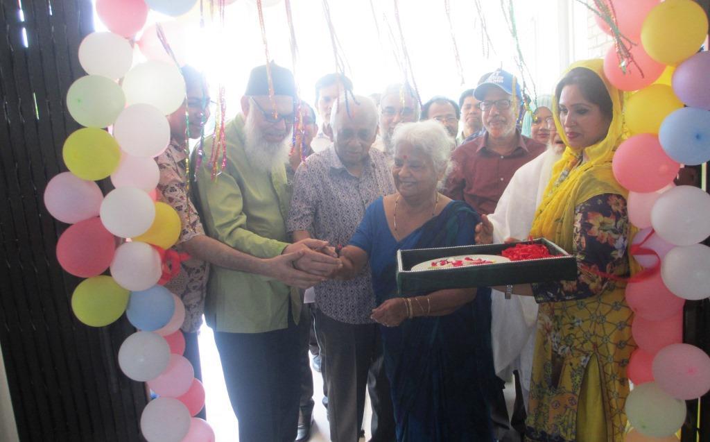 Hena Ahmed Shanti Nibash inaugurated