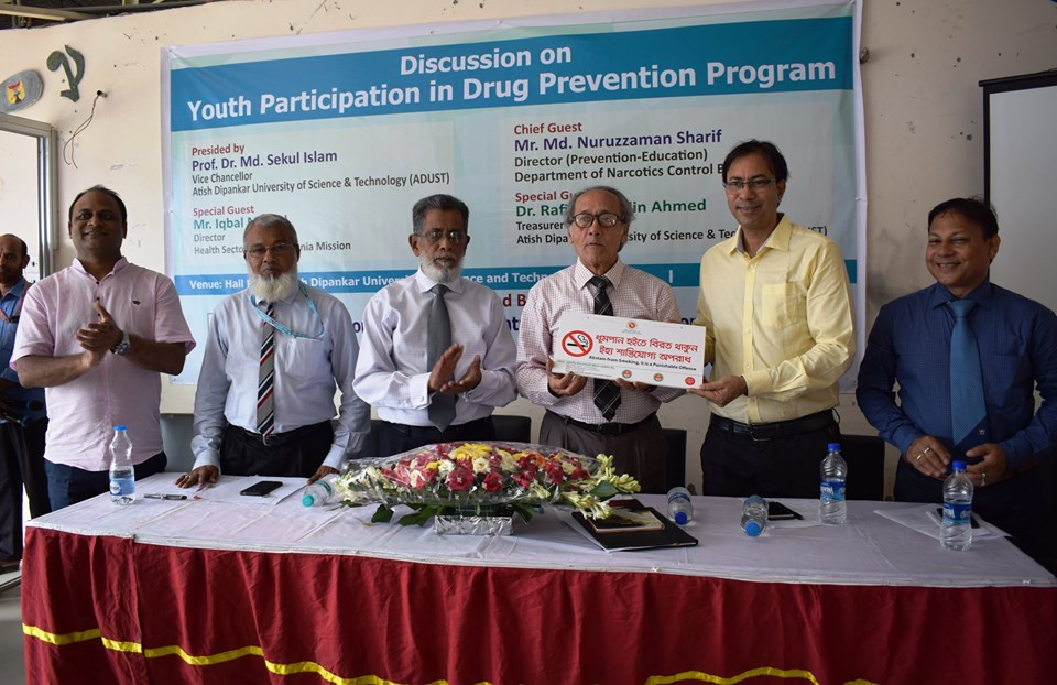 Youth Participation in Drug Prevention Program