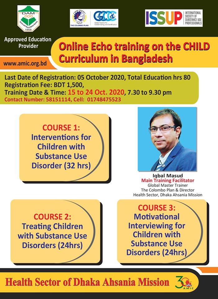 Online Echo Training on the CHILD Curriculum in Bangladesh